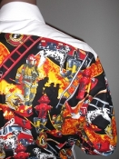 firemens uniform shirt