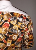 Tequila party tuxedo shirt by Tacky Tux