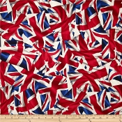Union Jack party shirts