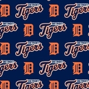 MLB Tigers themed tuxedo shirt by tacky tux