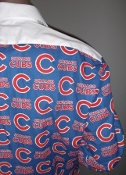MLB Cubs themed tuxedo shirt by tacky tux