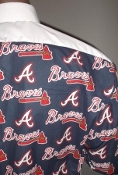 MLB Braves themed tuxedo shirt by tacky tux