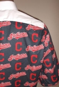 MLB Indians themed tuxedo shirt by tacky tux