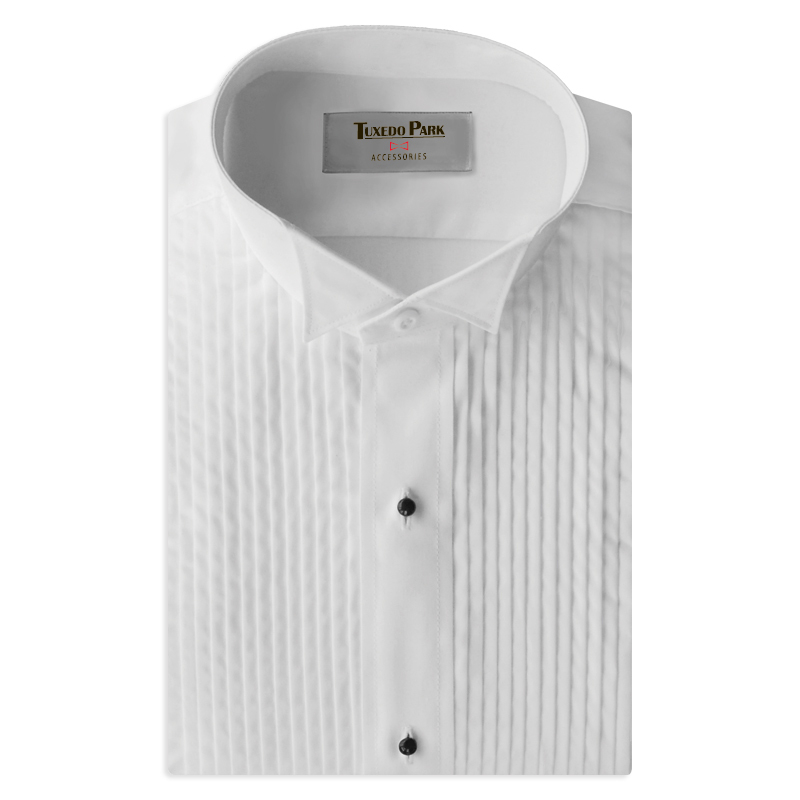 wing tip men's dress shirt